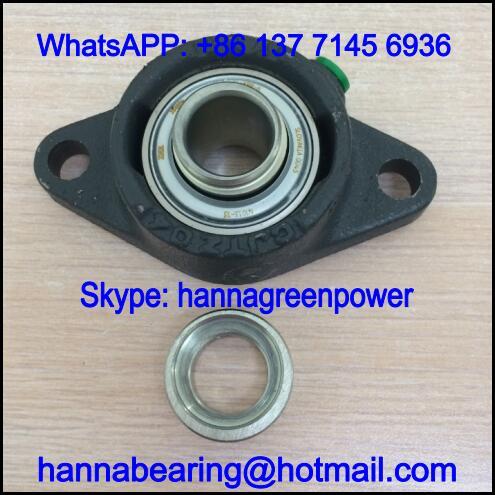 GE55-XL-KRR-B / GE55-KRR-B Insert Ball Bearing 55x100x71.4mm