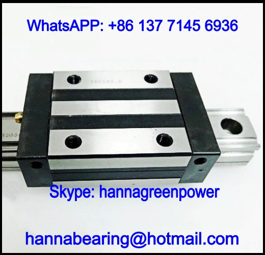 NRS100RSS / NRS100R1SS Linear Guide Block 286.2x200x85mm