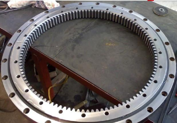 792DBS101y Four-point Contact Ball Slewing bearing with innter gear