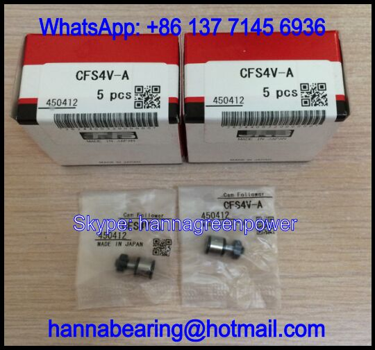CFS4VA / CFS4V-A Cam Follower Bearing 4x8x15mm