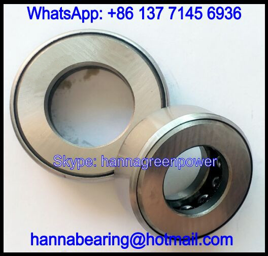 D41 Thrust Ball Bearing / Axial Deep Groove Ball Bearing 82.55x126.213x25.4mm