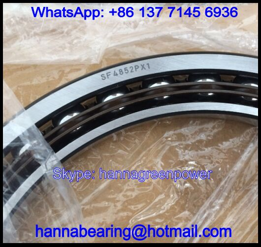 SF4852 Excavator Bearing / Angular Contact Ball Bearing 240*310*33mm