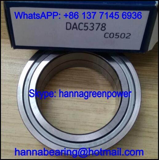 DAC5378 Automobile Bearing / Wheel Hub Bearing / Angular Contact Ball Bearing