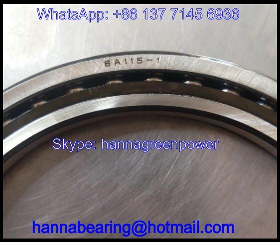 BA115-1SA Excavator Bearing / Angular Contact Ball Bearing 115*155*22mm