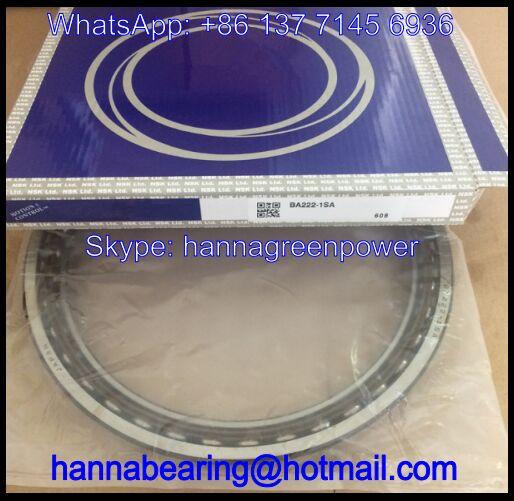 BA222-1 SA Excavator Bearing / Angular Contact Ball Bearing 222x273x26mm