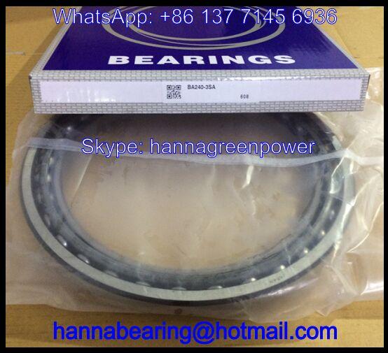 BA257-1 Excavator Bearing / Angular Contact Ball Bearing 257x315x30mm
