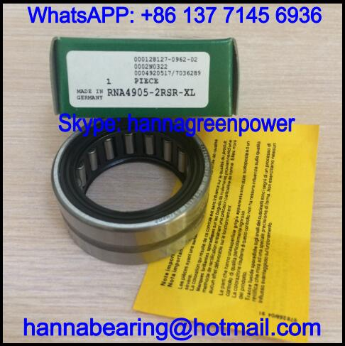 RNA4906-2RSR-XL Single Row Needle Roller Bearing 35x47x17mm
