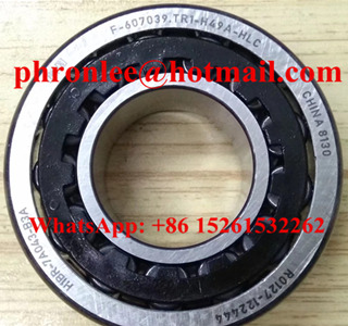 F-607039 Tapered Roller Bearing 25x53.5x16.5/21mm