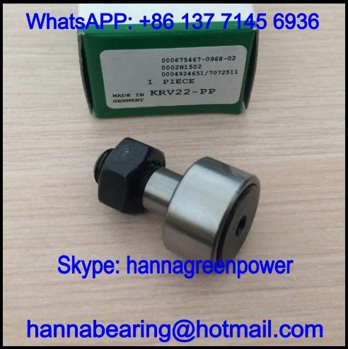 KRV35-PP Track Roller Bearing / KRV35PP Cam Follower 16x35x52mm