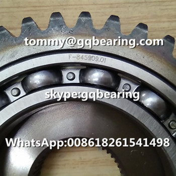 F-845909.01 Deep Groove Ball Bearing with Gear