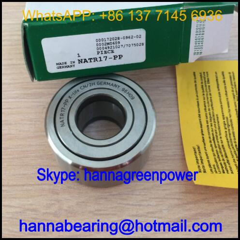 NATR10-PP Cam Follower Bearing / NATR10PP Track Roller Bearing 10x30x15mm
