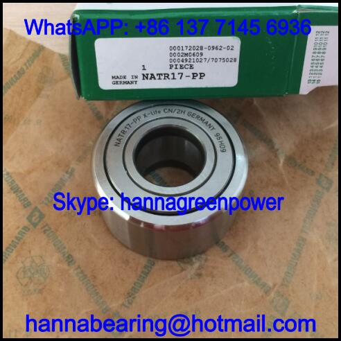 NATR17-PP Cam Follower Bearing / NATR17PP Track Roller Bearing 17x40x21mm