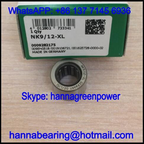 NK9/12-XL / NK9/12XL Single Row Needle Roller Bearing 9x16x12mm