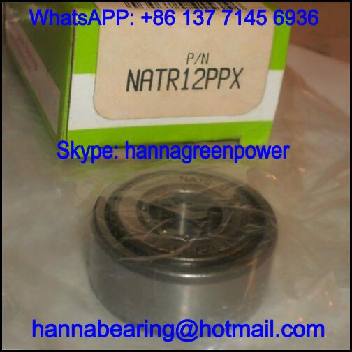 NATR25PPX Cam Follower Bearing / NATR25-PPX Track Roller Bearing 25x52x25mm