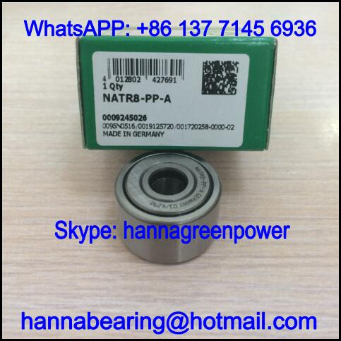 NATR17-PP-A Cam Follower Bearing / NATR17PPA Track Roller Bearing 17x40x21mm