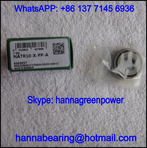 NATR10-X-PP Cam Follower Bearing / NATR10XPP Track Roller Bearing 10x30x15mm