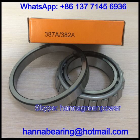 382/387A Single Row Tapered Roller Bearing 57.15x98.425x21mm