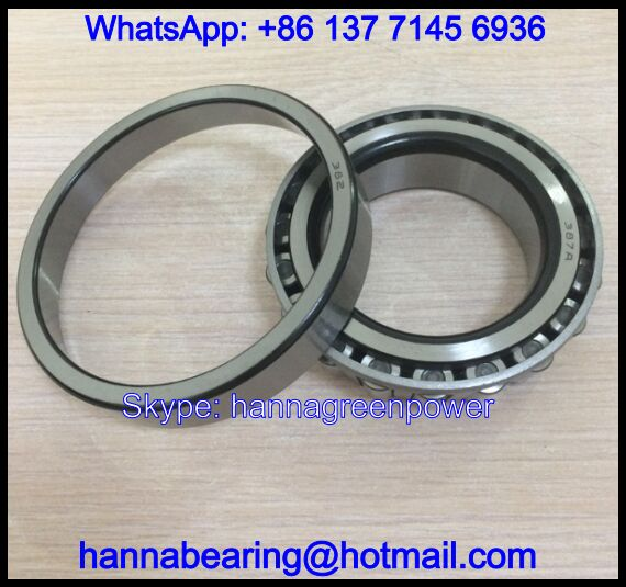 382 Single Row Tapered Roller Bearing 57.15x98.425x21mm