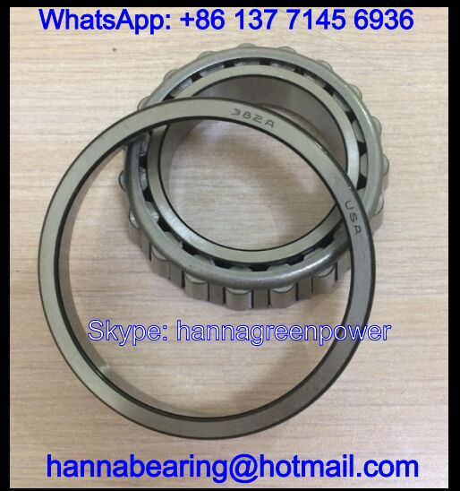 387AS/382A Single Row Tapered Roller Bearing 57.15x96.838x21mm