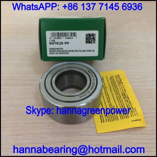 NATR25-PP Cam Follower Bearing / NATR25PP Track Roller Bearing 25x52x25mm