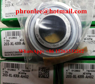 203-XL-KRR-AH05 Radial Insert Ball Bearing 13x40x18.3mm