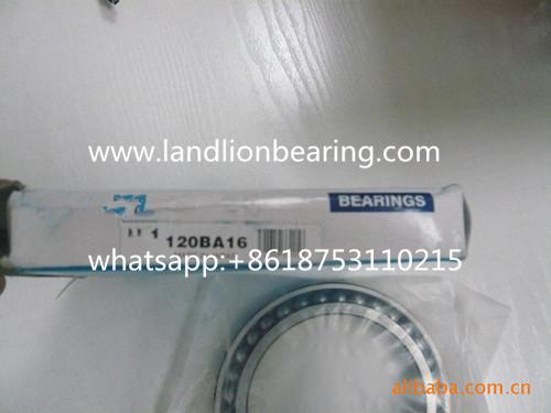 120BA16 Excavator bearings 120*165*22