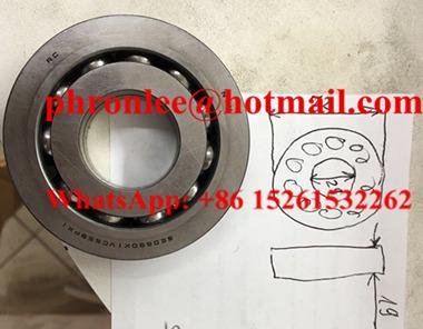 SE0660X1VCS59PX1 Deep Groove Ball Bearing 29x72x19mm