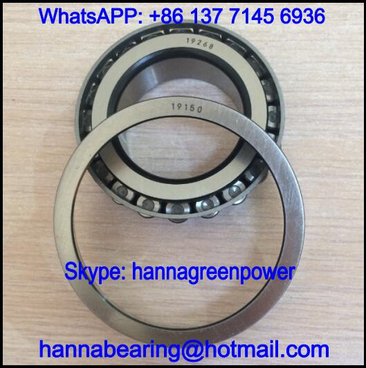 19150/19268 Single Row Tapered Roller Bearing 38.1x68.263x15.875mm