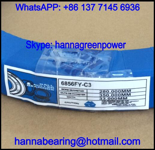 61856MA / 61856-MA Brass Cage Deep Groove Ball Bearing 280x350x33mm