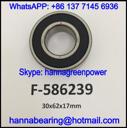F-586239 Automobile Bearing / Deep Groove Ball Bearing 30x62x17mm