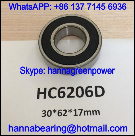 HC6206D Automobile Bearing / Deep Groove Ball Bearing 30x62x17mm