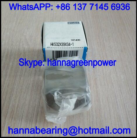 HKS30X37X30-6 Single Row Needle Roller Bearing 30*37*30mm