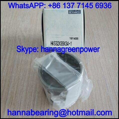 HKS25X32X38ZW Single Row Needle Roller Bearing 25x32x38mm