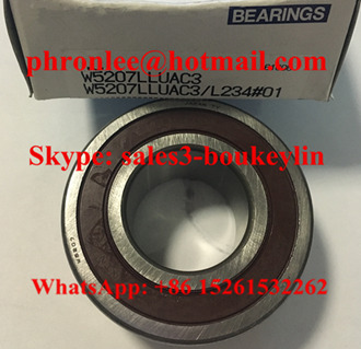W5207LUA Angular Contact Ball Bearing 35x72x27mm