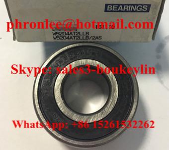 W5204AT2LLB/2AS Angular Contact Ball Bearing 20x47x23.8mm