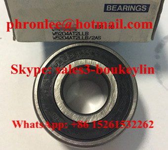 W5204LLB Angular Contact Ball Bearing 20x47x23.8mm