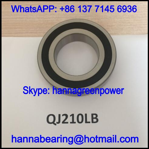 QJ210LLB Four Point Contact Bearing with Double Seals 50*90*20mm