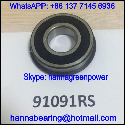 91091-2RS / 91091 Automobile Deep Groove Ball Bearing 30x66x17mm