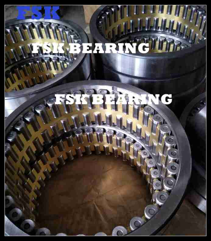 527634 Four Row Rolling Mill Bearing Conveyor Roller Bearing Brass Cage