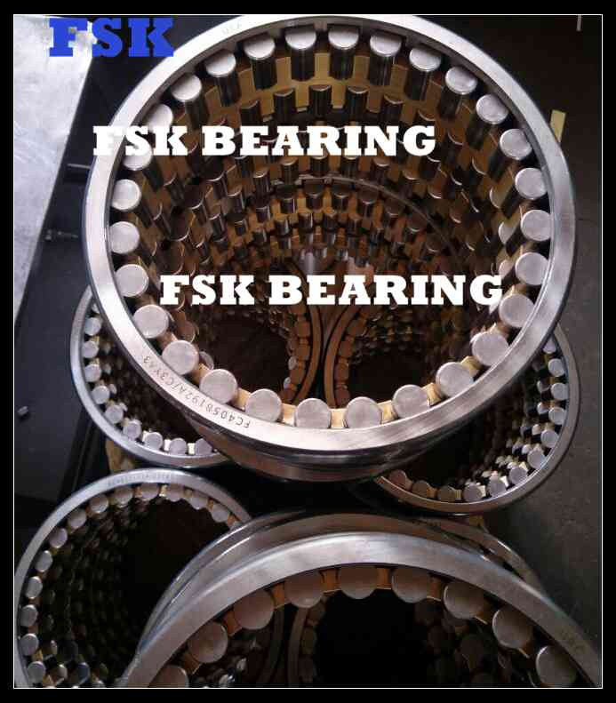 GCr15 ChromeSteel 4R4041 Four Row Rolling Mill Bearing BrassCage