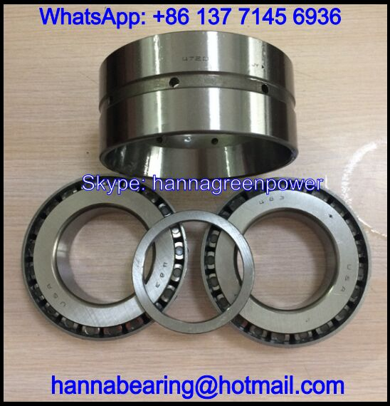 NA438SW/432D Double Row Tapered Roller Bearing 44.45*95.25*61.915mm