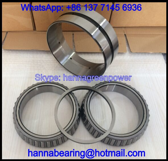 NA438/432D Double Row Tapered Roller Bearing 44.45x95.25x61.915mm
