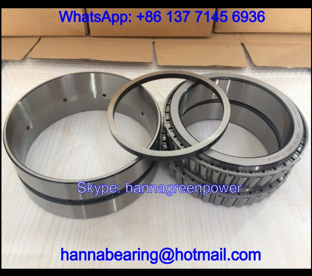 438/432D Double Row Tapered Roller Bearing 44.45*95.25*61.915mm