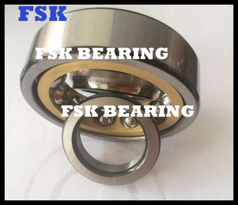 High Speed QJ 1024 N2MA Four Point Angular Contact Ball Bearing