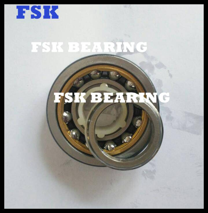 FSKG Brand 116124 Four Point Angular Contact Ball Bearing Brass Cage