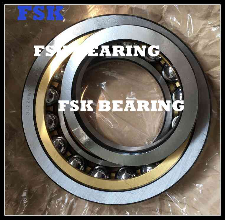 High Speed QJ 224 N2MA Four Point Contact Bearing Air Compressor Bearing