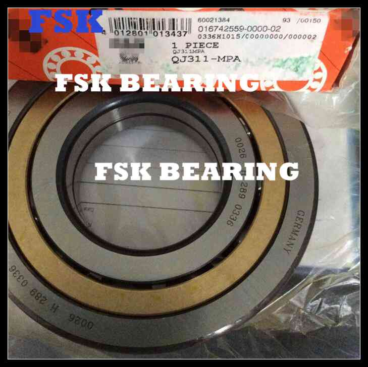 Super Precision 116126 Four Point Contact Bearing Air Compressor Bearing