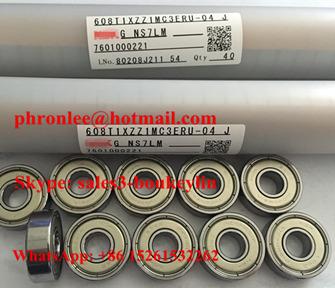 608T1XZZ1MC3ERU-04 Deep Groove Ball Bearing 8x22x7mm