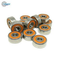 S623C-2RS Ceramic Orange Seal ABEC 7 Fishing Reel Bearings 3x10x4mm