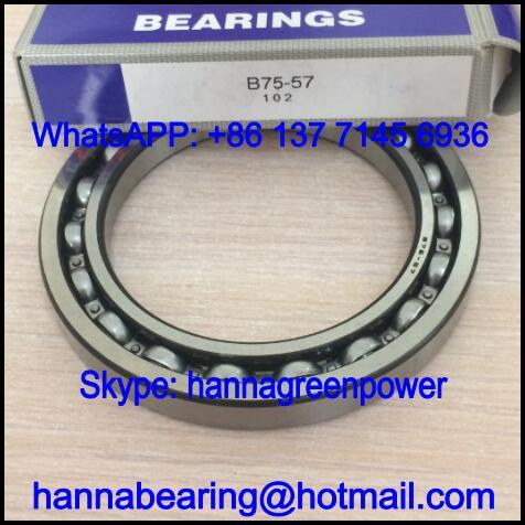 B75-57 Automobile Bearing / Deep Groove Ball Bearing 75x106x12mm